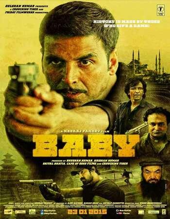 Baby 2015 Full Hindi Movie 720p BRRip Free Download