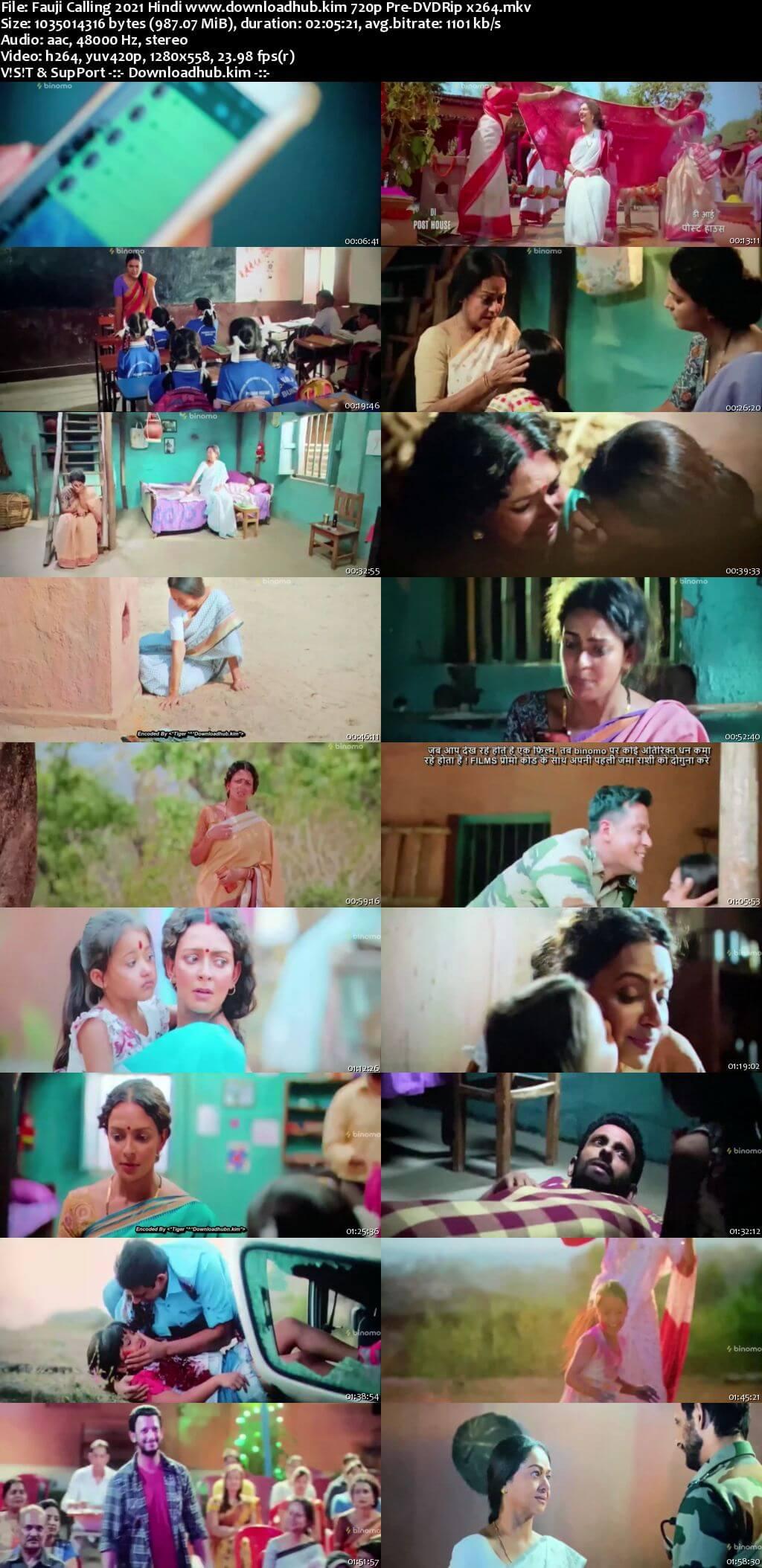 Fauji Calling 2021 Hindi 720p 480p Pre-DVDRip x264