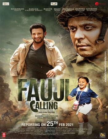 Fauji Calling 2021 Full English Movie 720p 480p Download