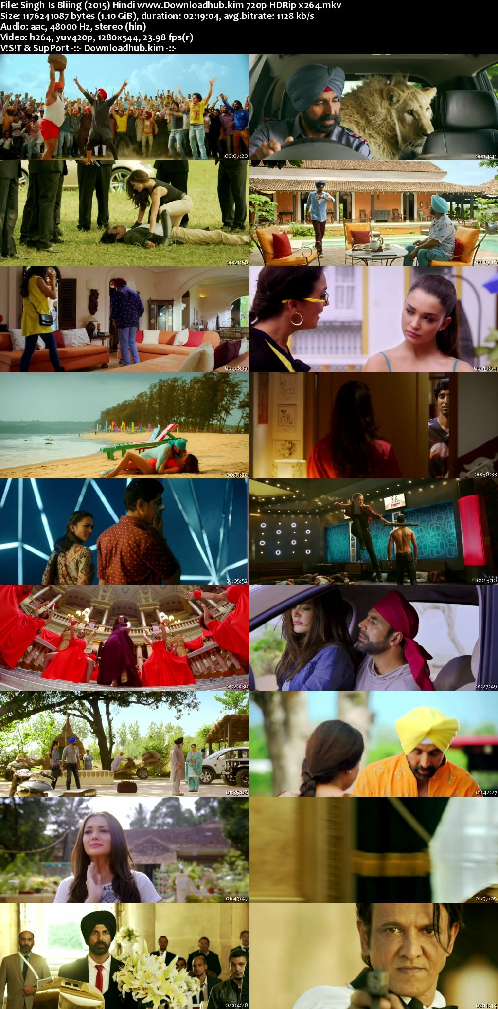 Singh Is Bliing 2015 Hindi 720p HDRip x264