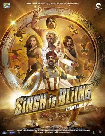 Singh Is Bliing 2015 Full Hindi Movie 720p HDRip Download