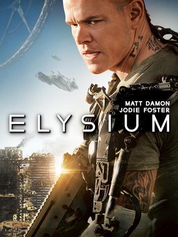 Elysium 2013 Dual Audio ORG Hindi 480p BluRay x264 340MB ESubs