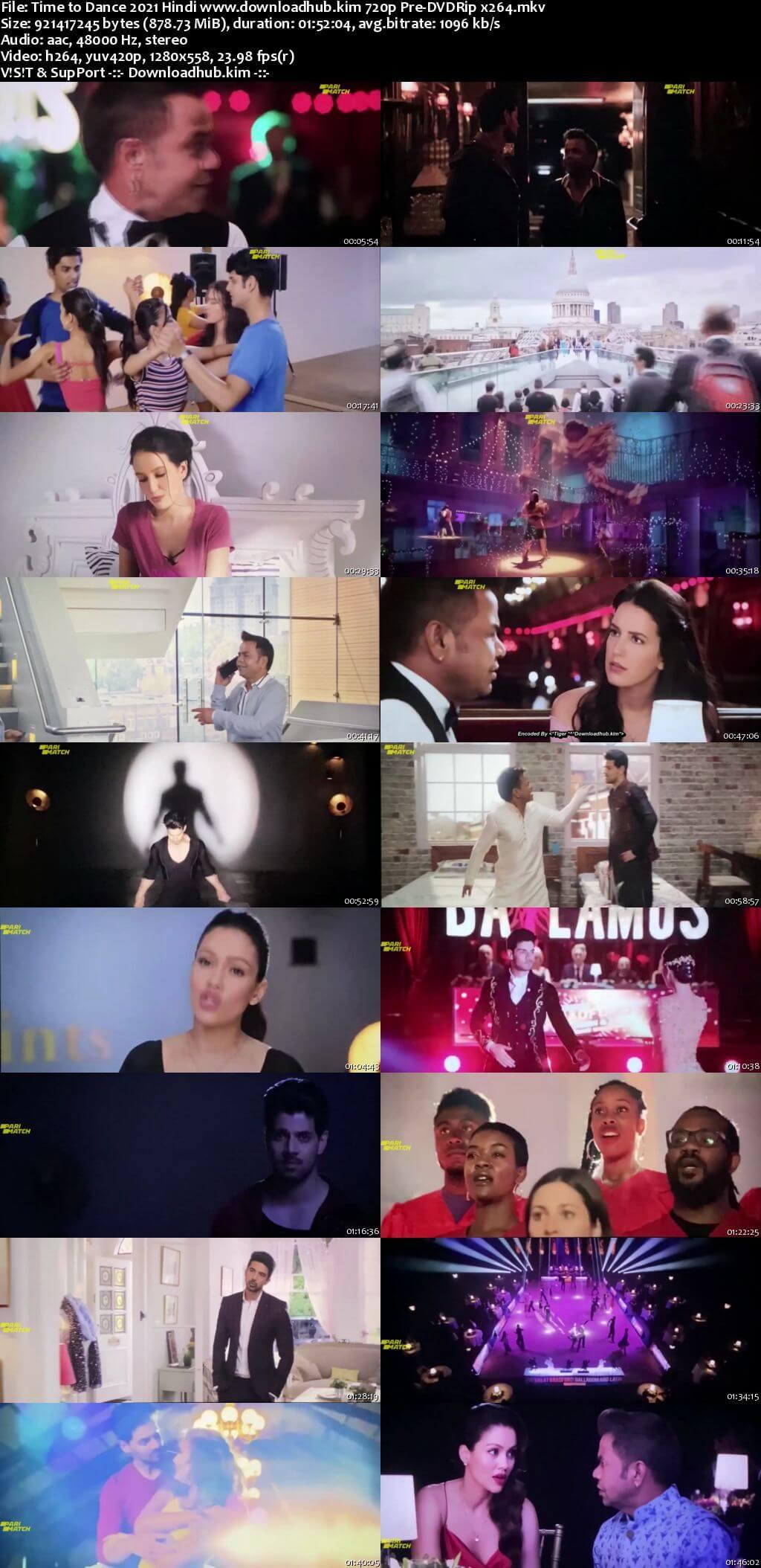 Time to Dance 2021 Hindi 720p 480p Pre-DVDRip x264