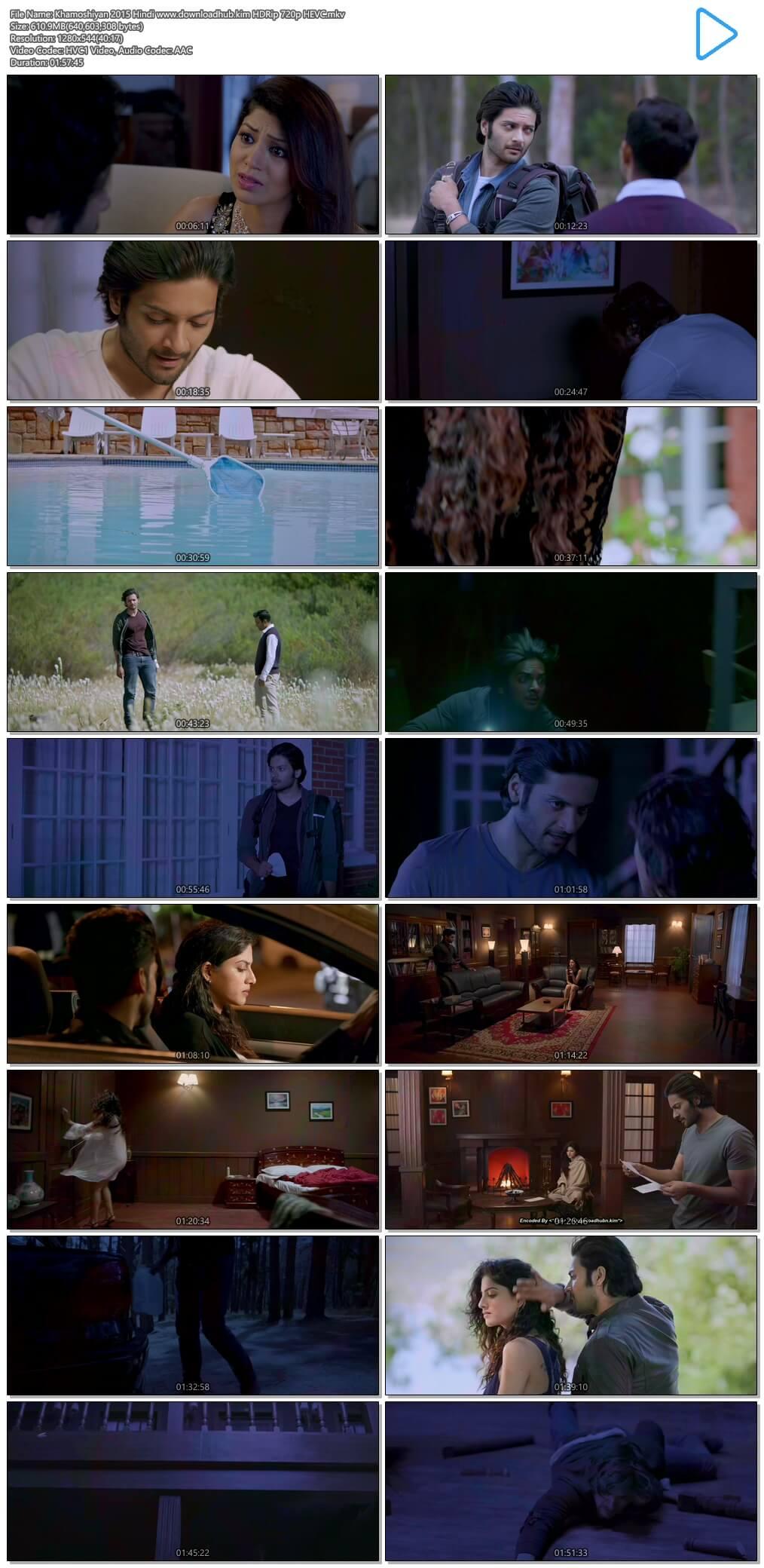 Khamoshiyan 2015 Hindi 600MB HDRip 720p HEVC