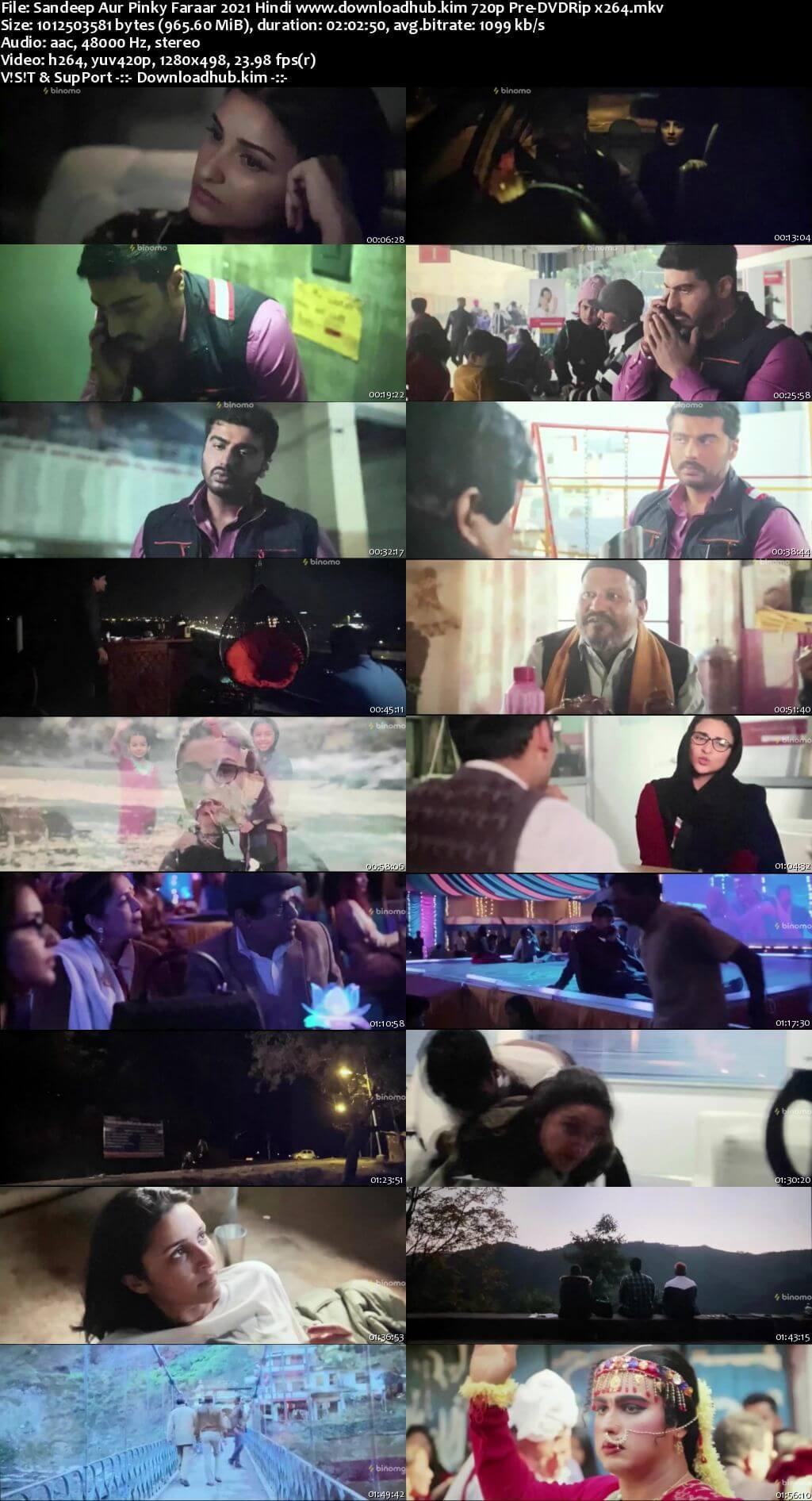 Sandeep Aur Pinky Faraar 2021 Hindi 720p 480p Pre-DVDRip x264