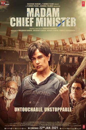 Madam Chief Minister 2020 Hindi 720p WEB-DL 900mb