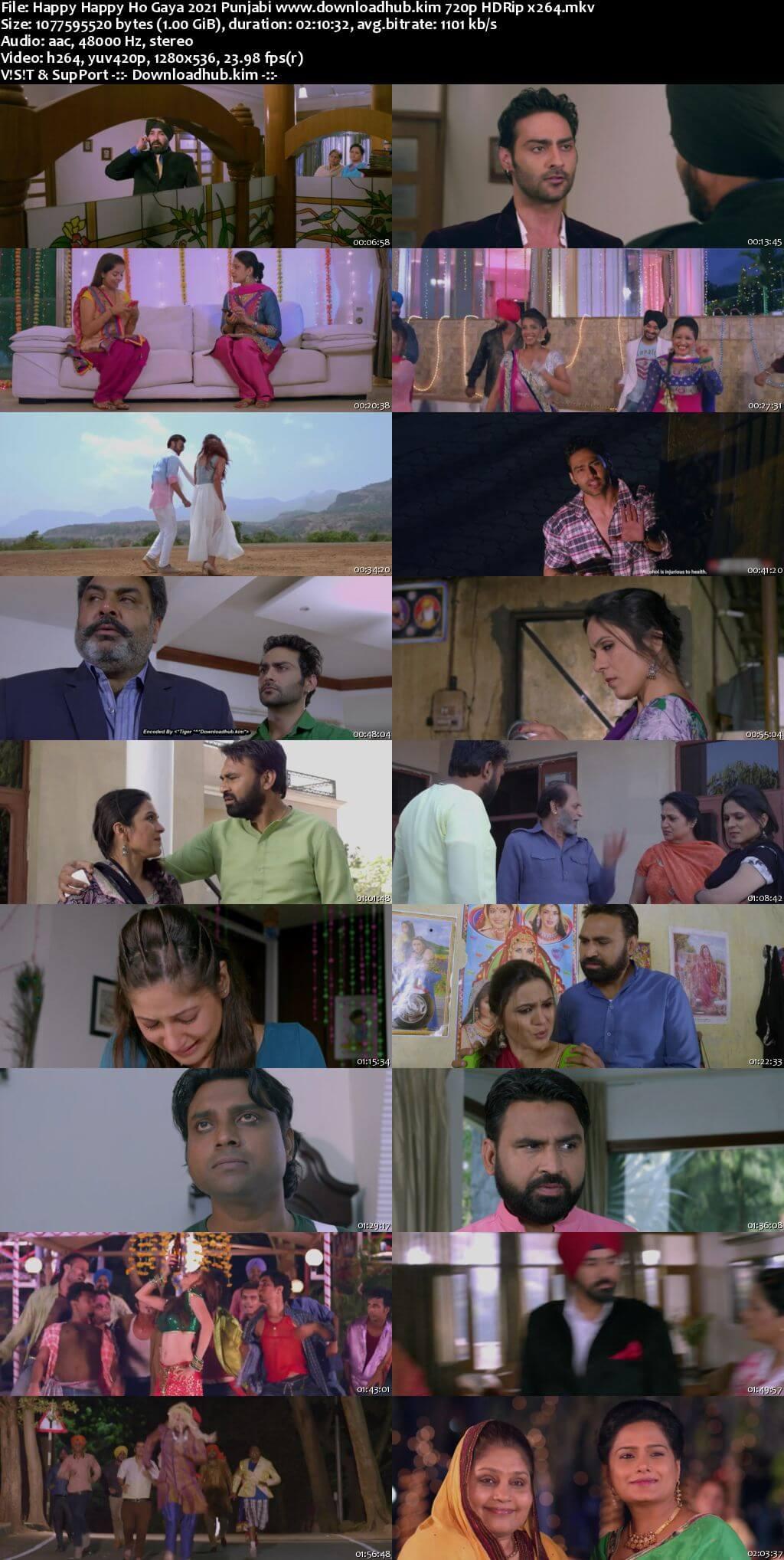 Happy Happy Ho Gaya 2021 Punjabi 720p HDRip x264