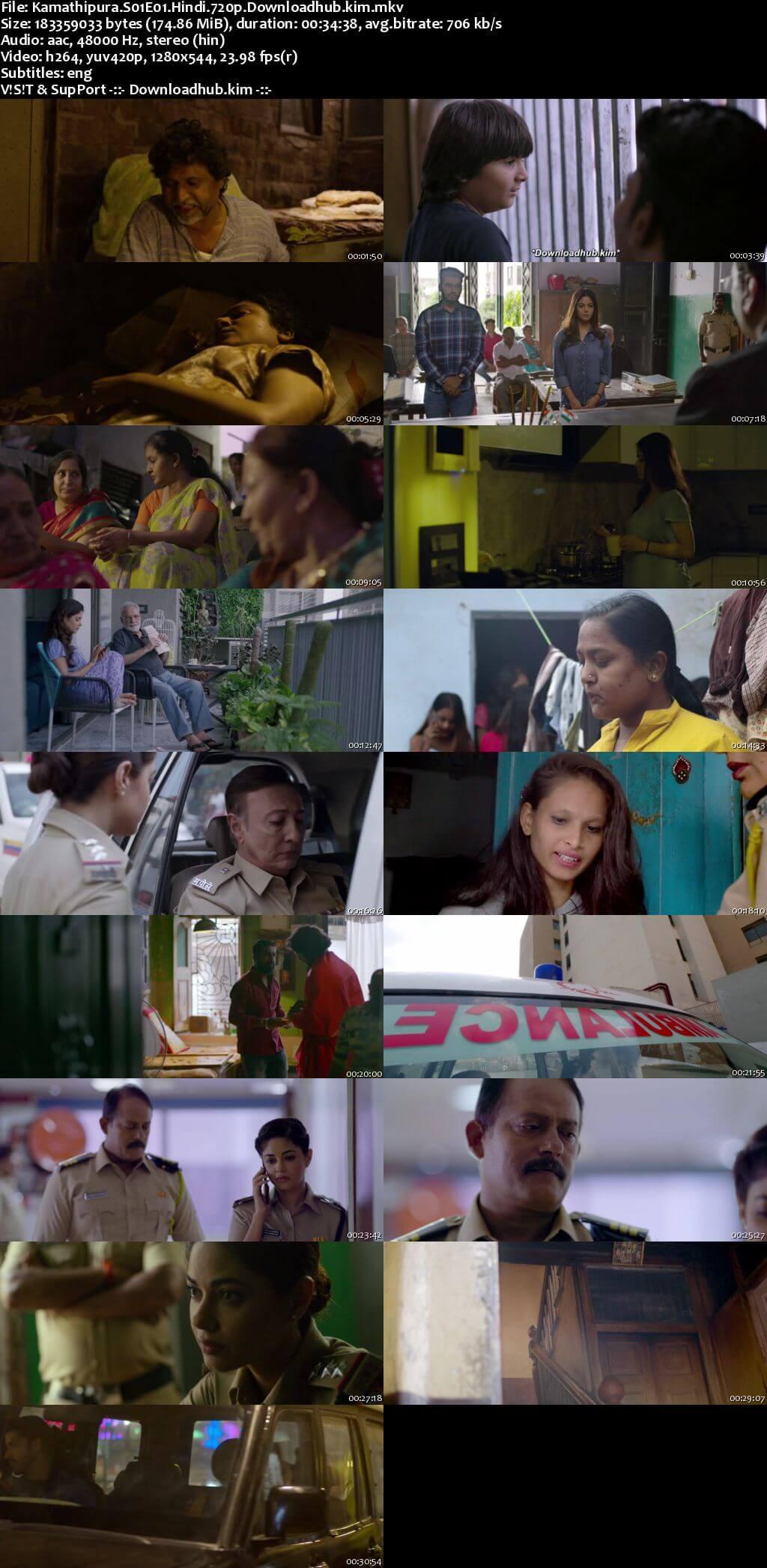 Kamathipura 2021 Hindi Season 01 Complete 720p HDRip ESubs