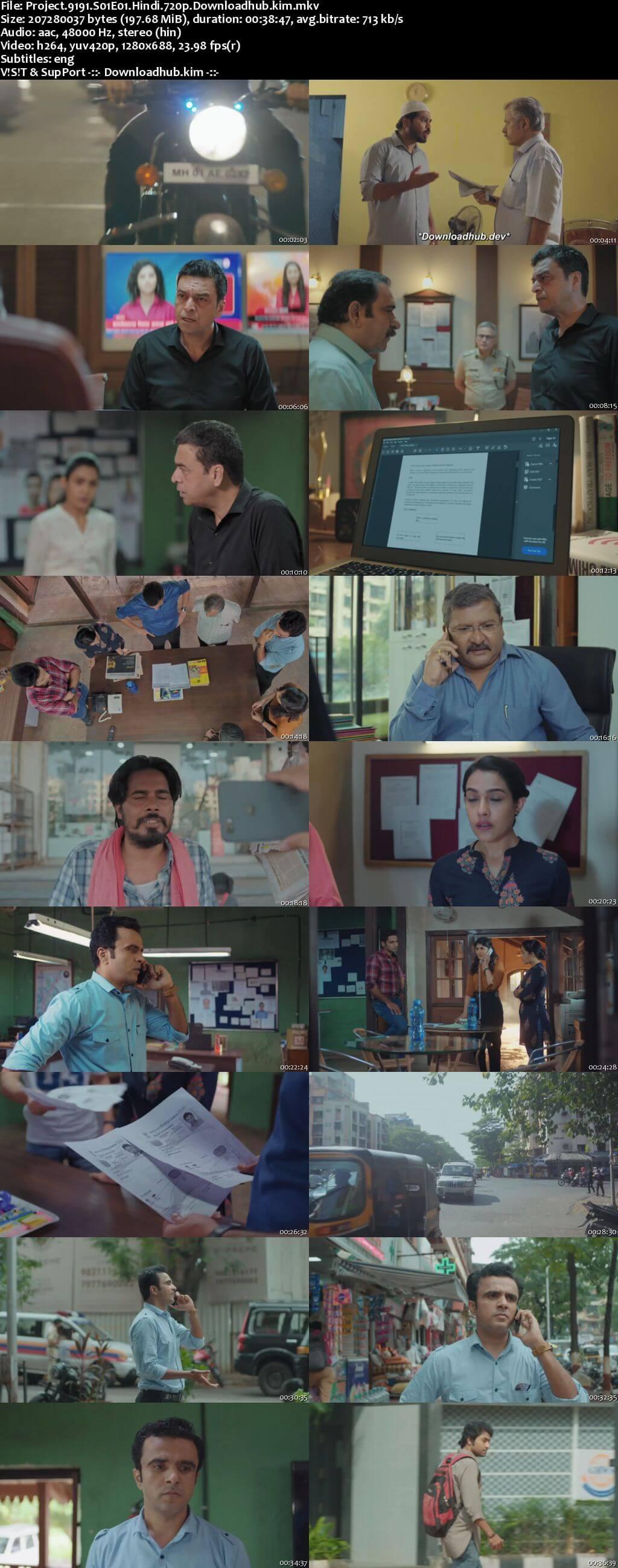 Project 9191 2021 Hindi Season 01 Complete 720p HDRip ESubs