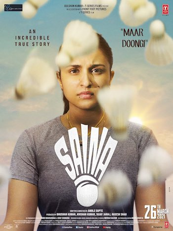 Saina 2021 Hindi 720p pDVDRip 1GB