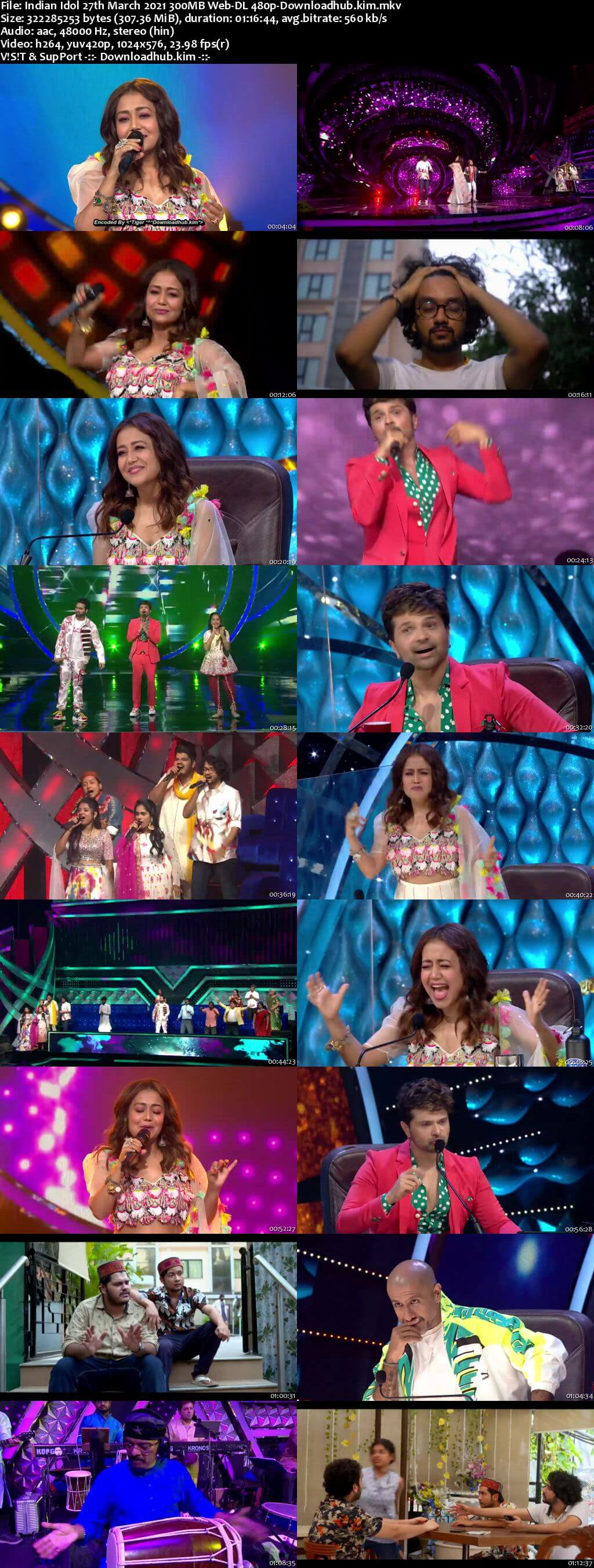 Indian Idol 27 March 2021 Episode 35 Web-DL 480p