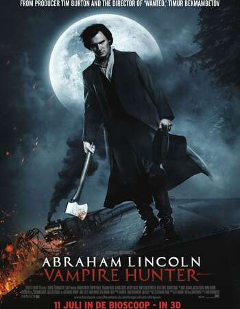 Abraham Lincoln Vampire Hunter 2012 Hindi Dual Audio 350MB BluRay 480p ESubs