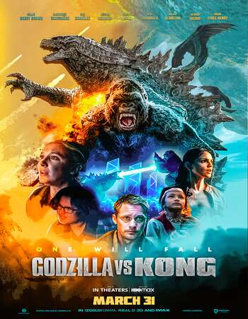 Godzilla vs Kong 2021 Hindi (Cleaned) Dual Audio 350MB Web-DL 480p ESubs