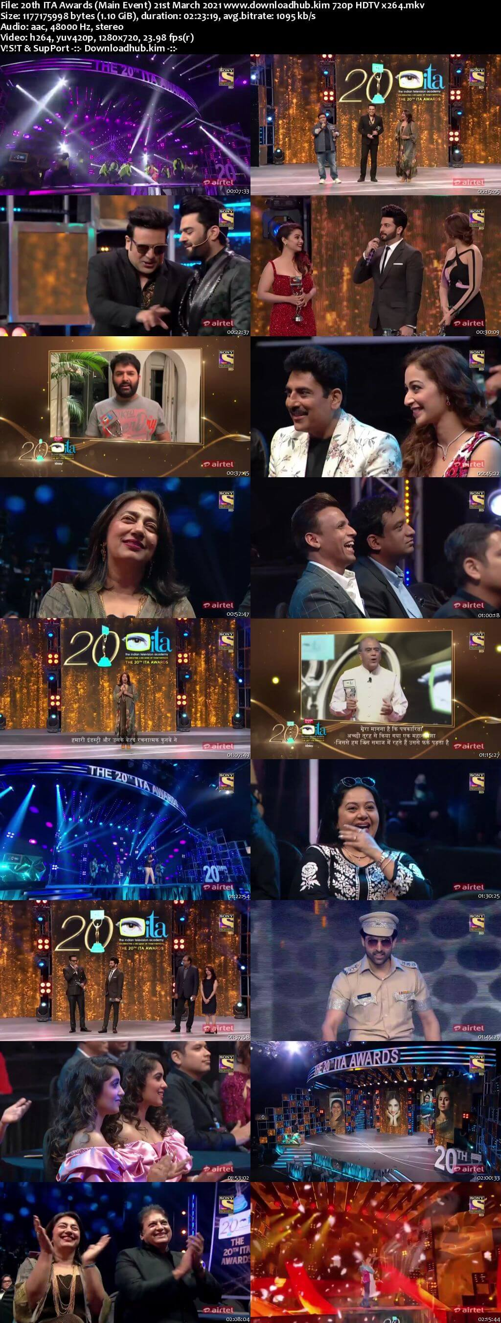 20th ITA Awards (Main Event) 21st March 2021 720p 480p HDTV x264