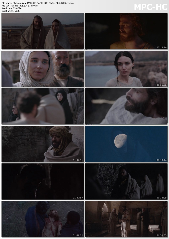 Mary Magdalene 2018 Dual Audio ORG Hindi 480p BluRay x264 400MB ESubs