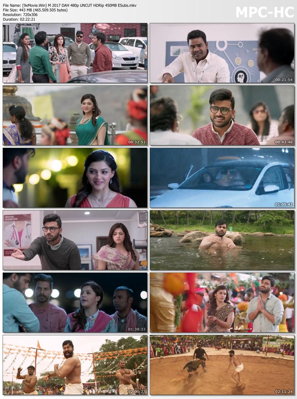 Mahanubhavudu 2017 Dual Audio Hindi 480p UNCUT HDRip x264 450MB ESubs