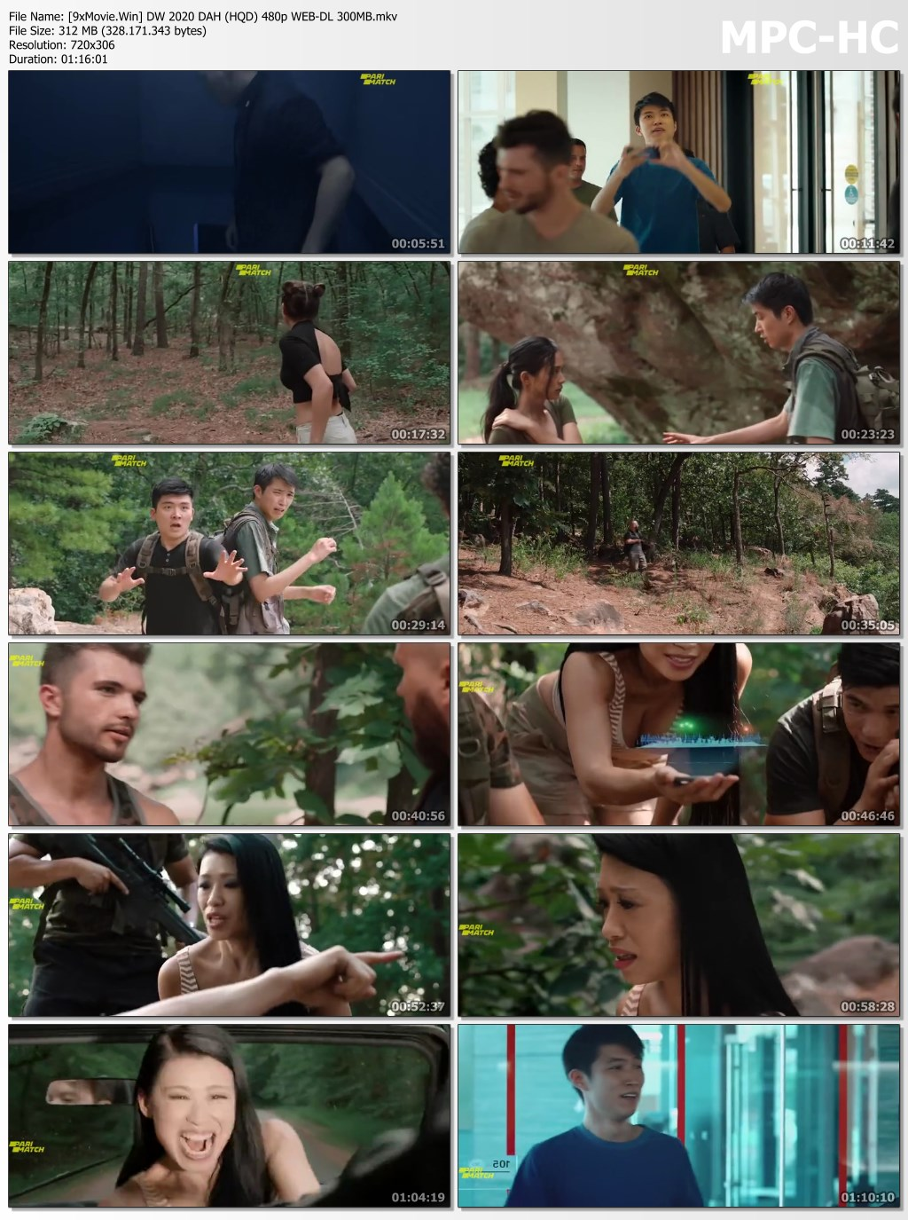 Dinosaur World 2020 Dual Audio Hindi (HQ Dub) 480p WEB-DL x264 300MB