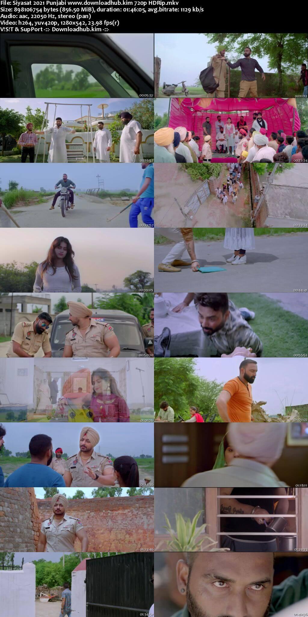Siyasat 2021 Punjabi 720p HDRip x264