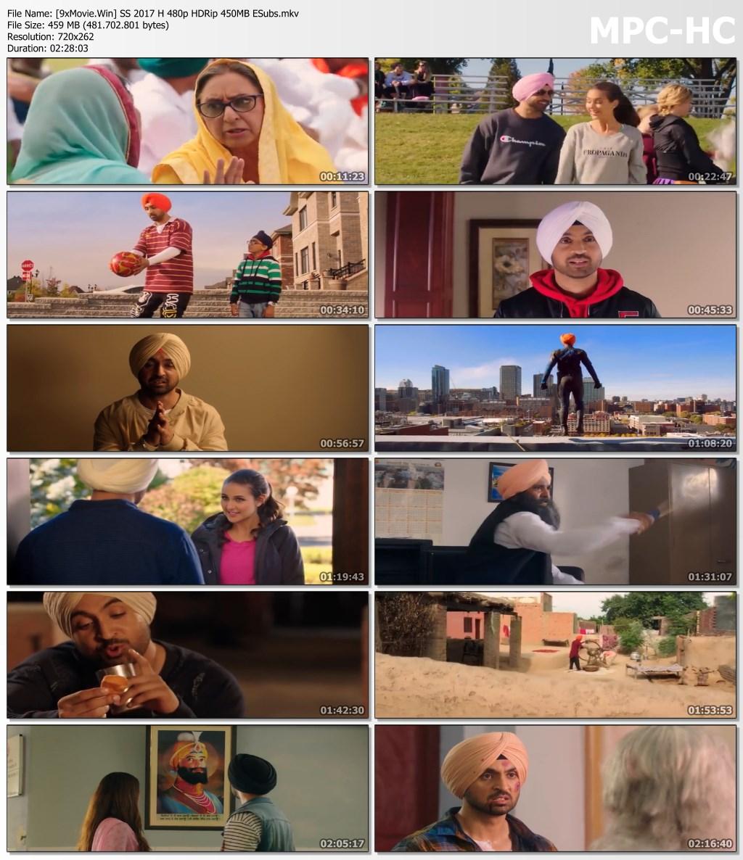 Super Singh 2017 Hindi 480p HDRip x264 450MB ESubs