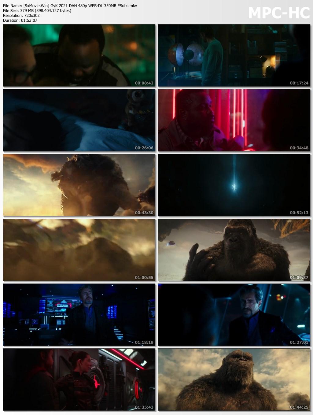 Godzilla vs. Kong 2021 Dual Audio Hindi 480p WEB-DL x264 350MB ESubs