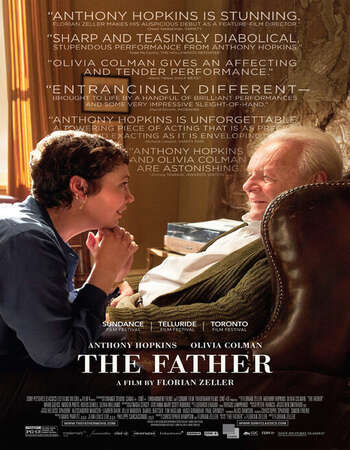 The Father 2020 English 300MB Web-DL 480p ESubs