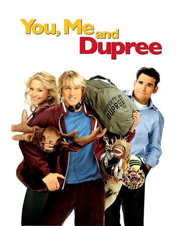 You Me and Dupree 2006 Hindi Dual Audio 350MB BluRay 480p ESubs