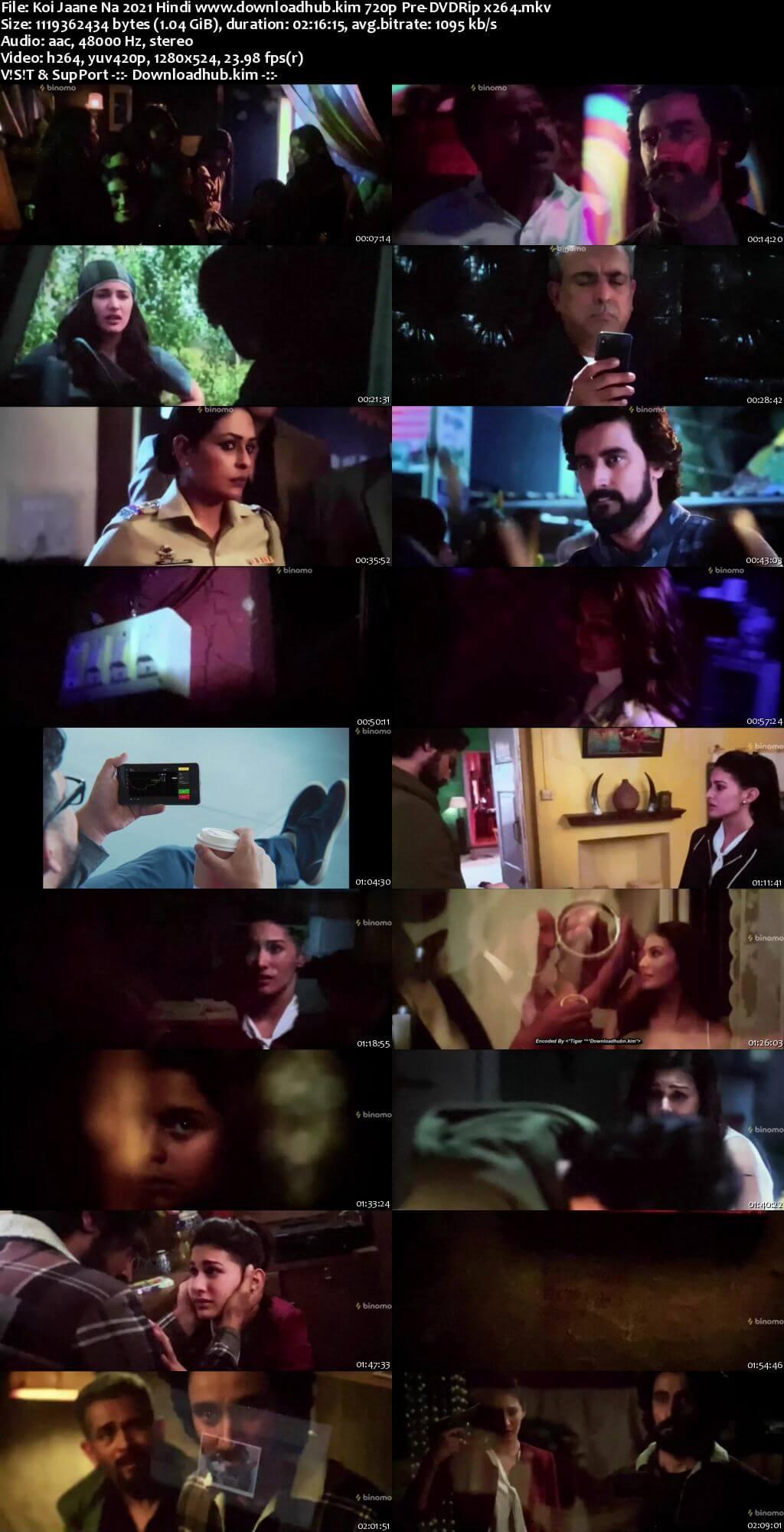 Koi Jaane Na 2021 Hindi 720p 480p Pre-DVDRip x264