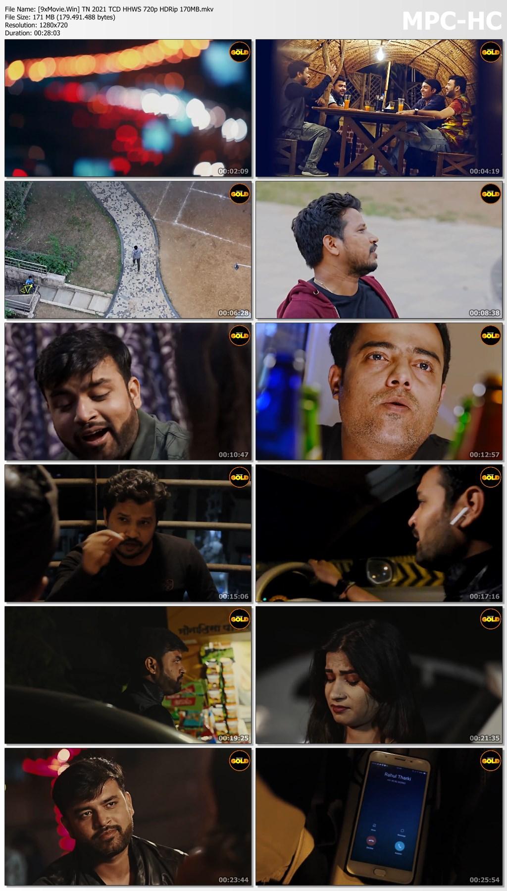 Twisted Night 2021 CinemaDosti Hindi Hot Web Series 720p HDRip x264 170MB