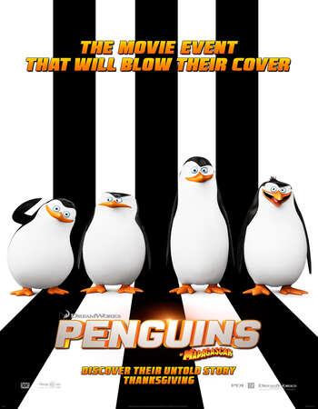Penguins of Madagascar 2014 Hindi Dual Audio BRRip Full Movie 480p Download