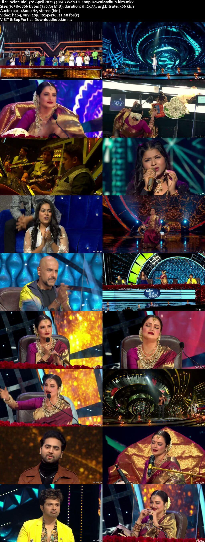 Indian Idol 03 April 2021 Episode 37 Web-DL 480p