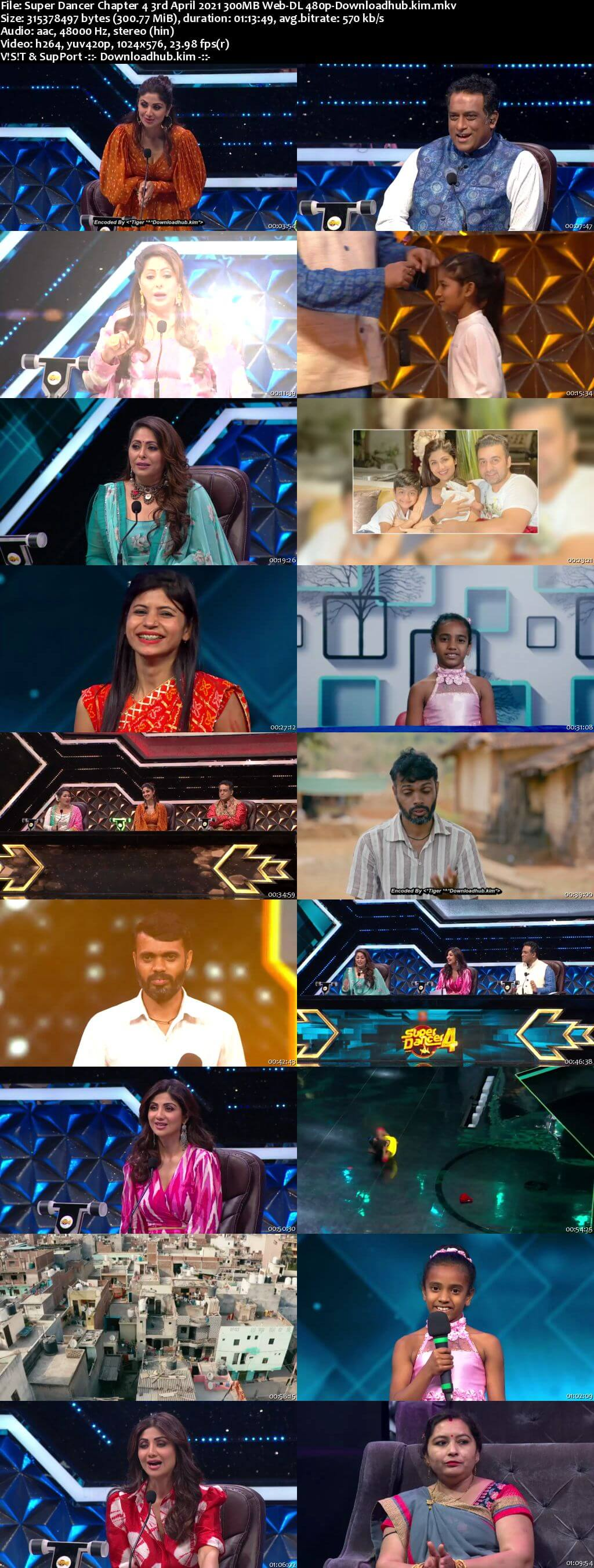 Super Dancer Chapter 4 3rd April 2021 300MB Web-DL 480p