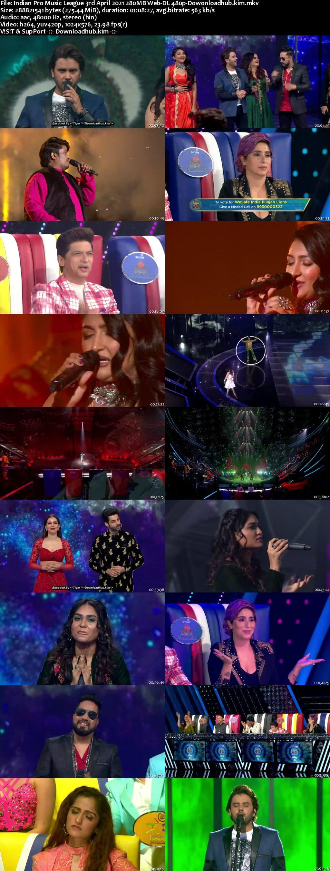 Indian Pro Music League 3rd April 2021 280MB Web-DL 480p