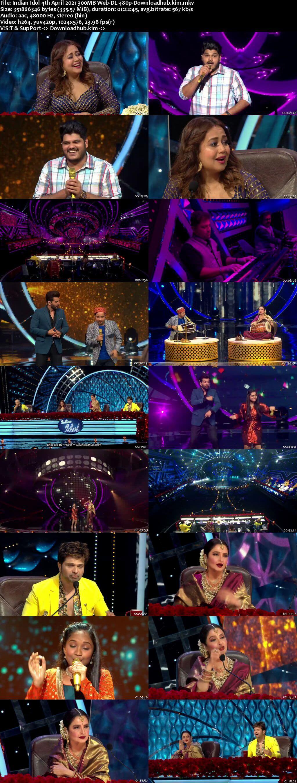 Indian Idol 04 April 2021 Episode 38 Web-DL 480p