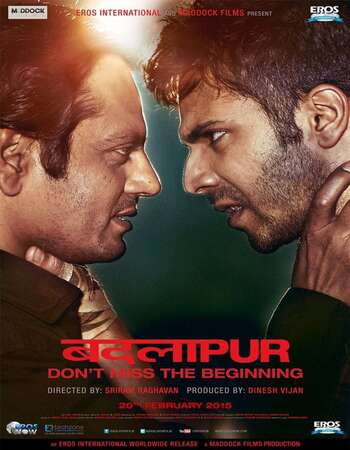 Badlapur 2015 Hindi 720p HDRip ESubs