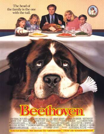 Beethoven 1992 Hindi Dual Audio BRRip Full Movie 480p Download