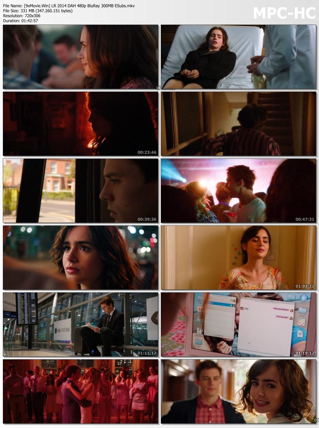 Love, Rosie 2014 Dual Audio Hindi 480p BluRay x264 300MB ESubs
