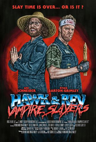 Hawk and Rev Vampire Slayers 2021 Dual Audio Hindi (HQ Dub) 480p WEB-DL x264 300MB