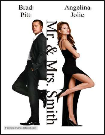 Mr. And Mrs. Smith 2005 Hindi Dual Audio BRRip Full Movie 480p Download
