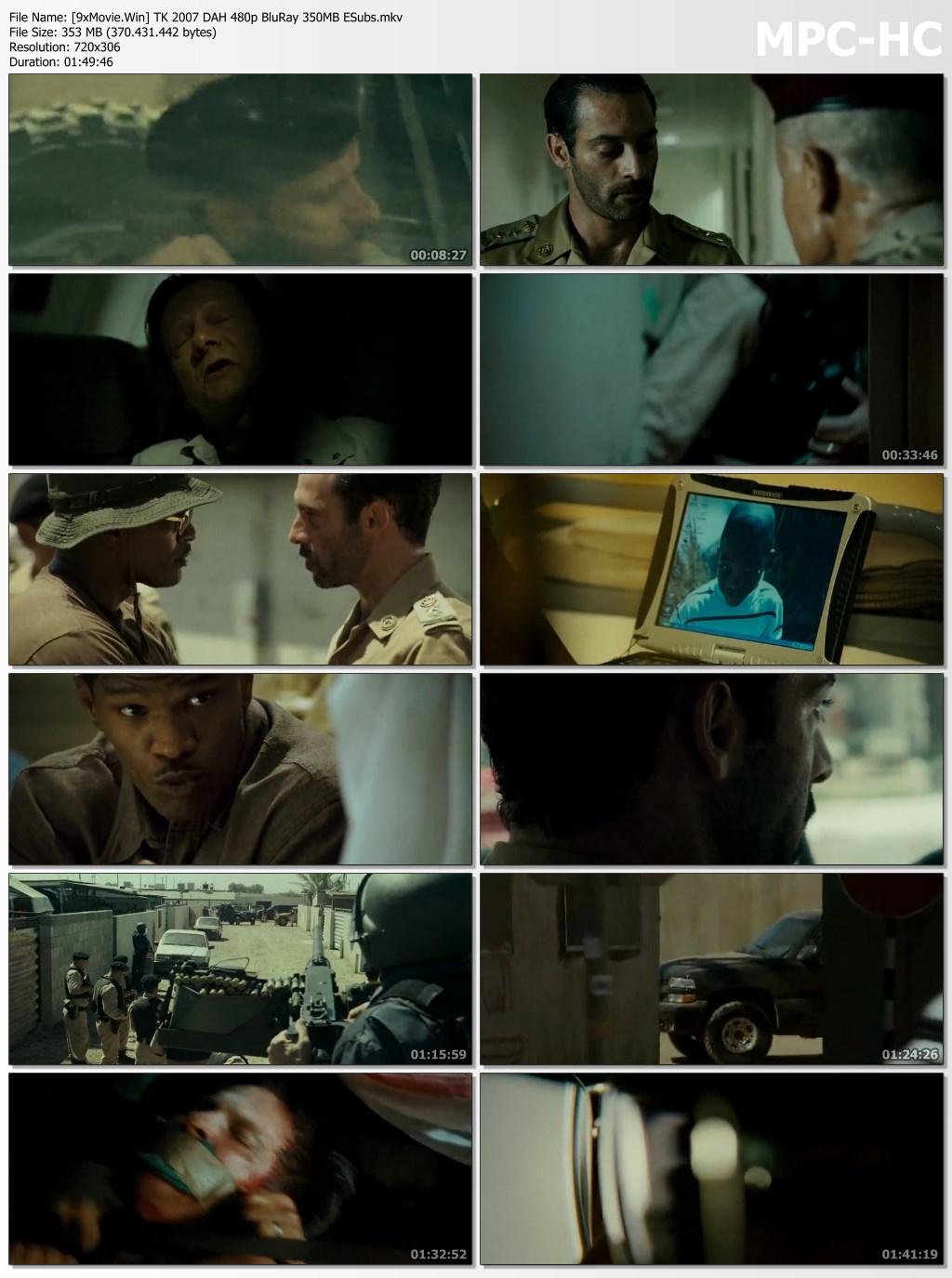 The Kingdom 2007 Hollywood Movie Hindi 480p BluRay x264 350MB ESubs