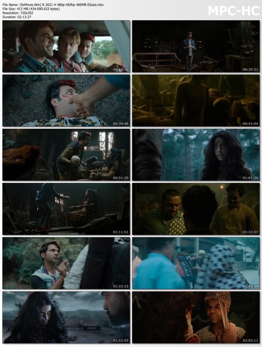 Roohi 2021 Bollywood Movie 480p HDRip x264 400MB ESubs