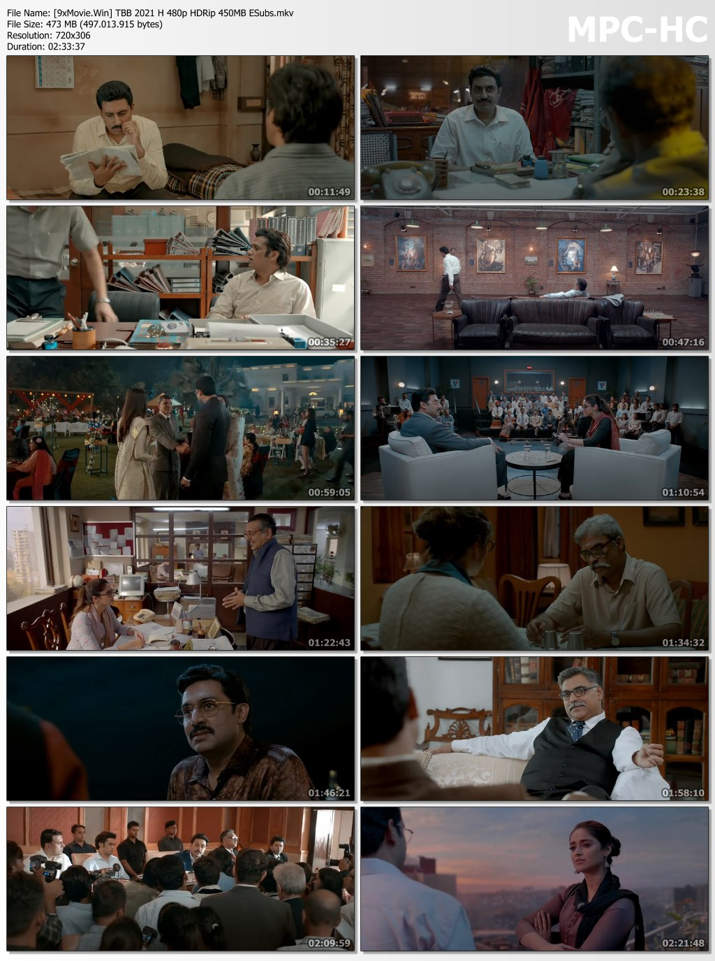 The Big Bull 2021 Bollywood Movie 480p HDRip x264 450MB ESubs