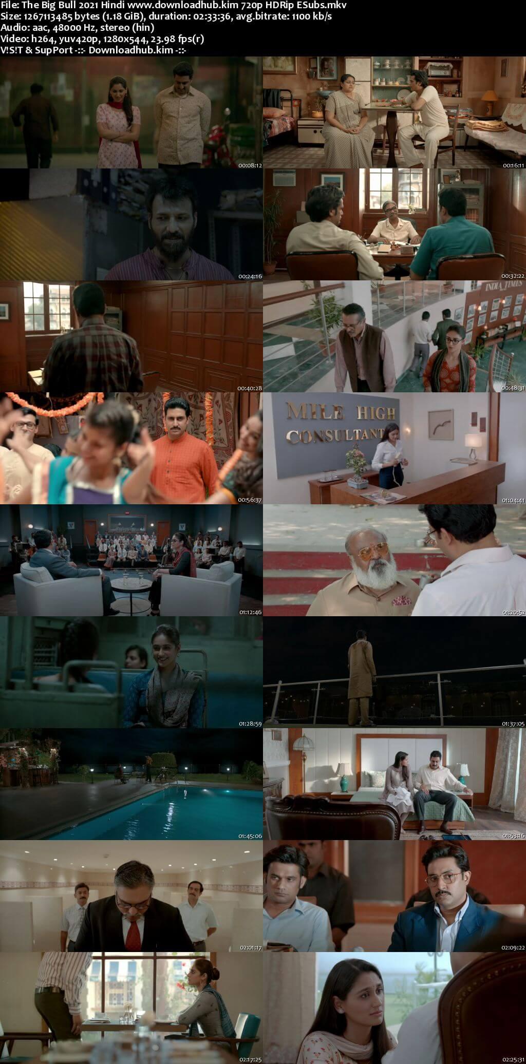 The Big Bull 2021 Hindi 720p HDRip ESubs