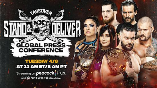 WWE NXT TakeOver Stand And Deliver Night 02 8th April 2021 720p 650MB PPV WEBRip 480p