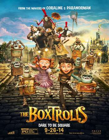 The Boxtrolls 2014 Hindi Dual Audio 720p BluRay ESubs