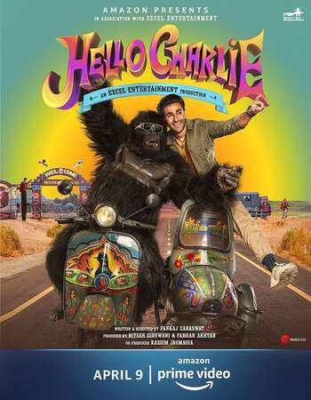 Hello Charlie 2021 Hindi 300MB HDRip 480p ESubs