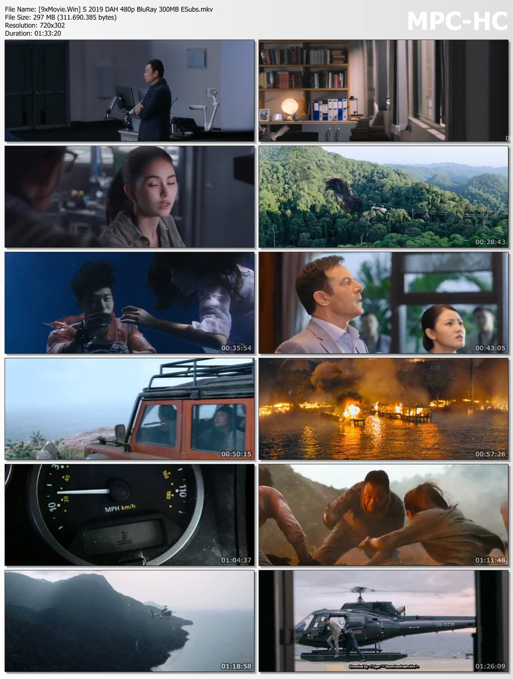 Skyfire 2019 Chinese Movie Hindi 480p BluRay x264 300MB ESubs