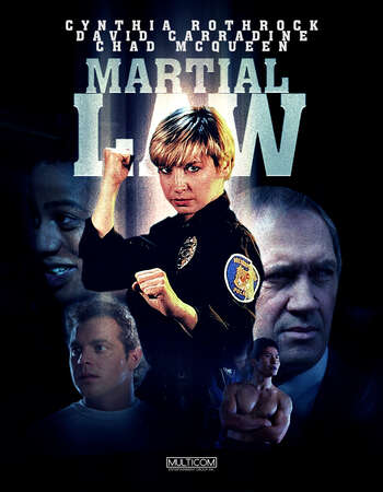 Martial Law 1990 Hindi Dual Audio 300MB BluRay 480p ESubs