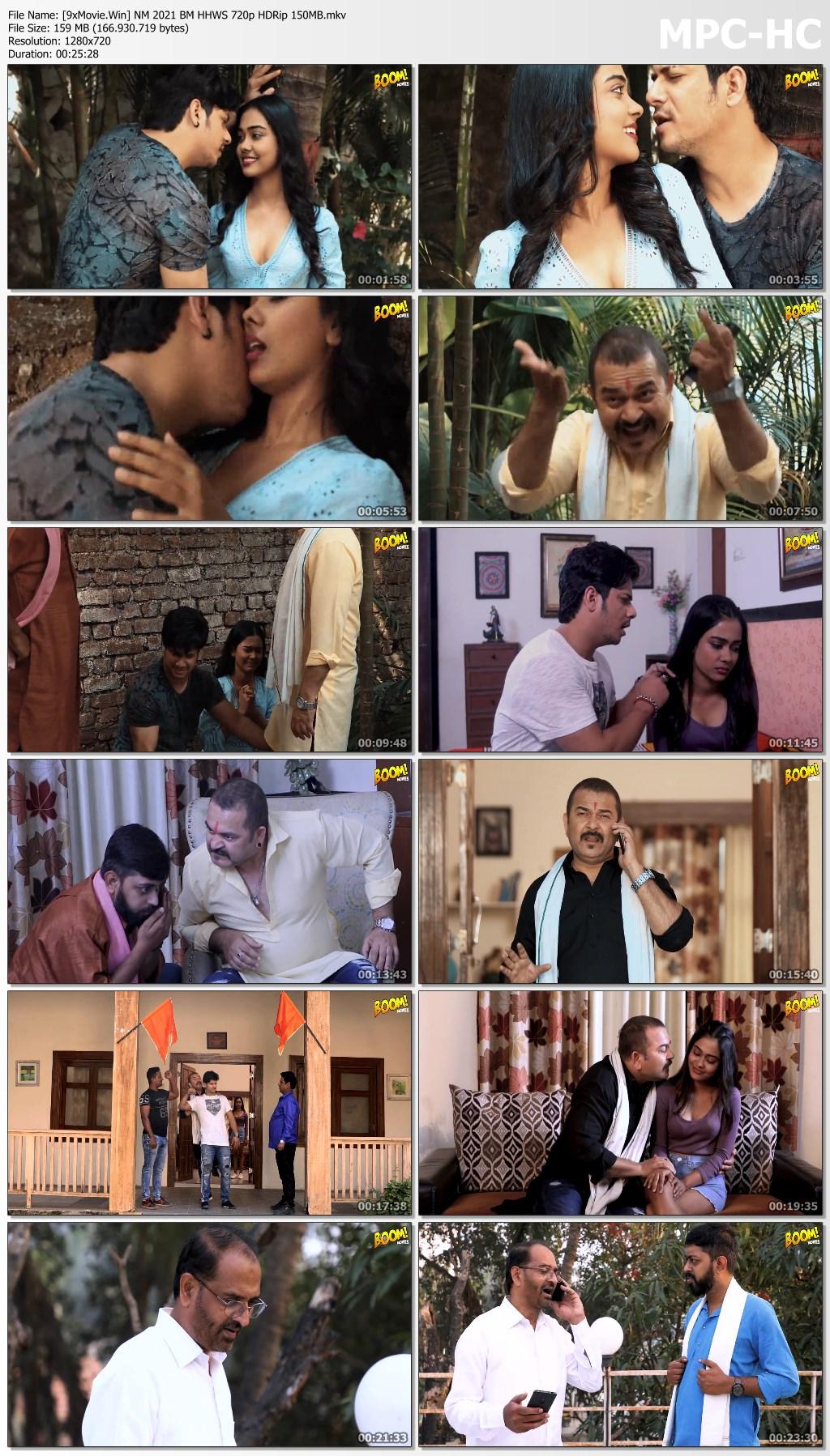 Naina MMS 2021 BoomMovies Hindi Hot Web Series 720p HDRip x264 150MB