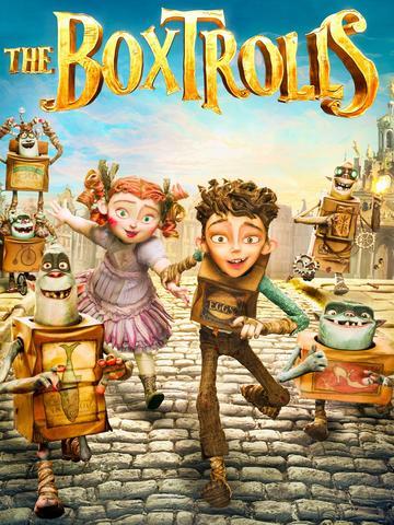 The Boxtrolls 2014 Hollywood Movie Hindi ORG 480p BluRay x264 300MB ESubs