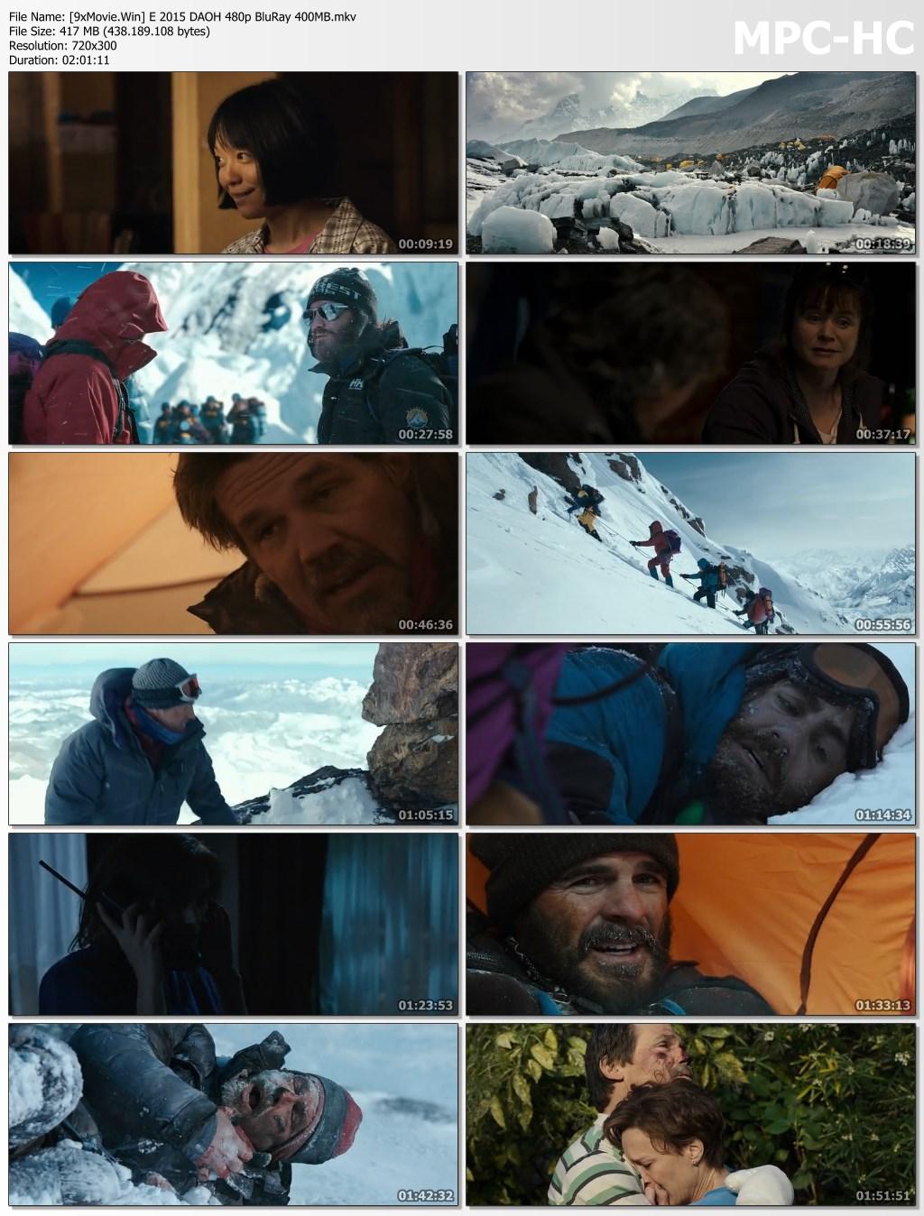 Everest 2015 Hollywood Movie Hindi ORG 480p BluRay x264 400MB